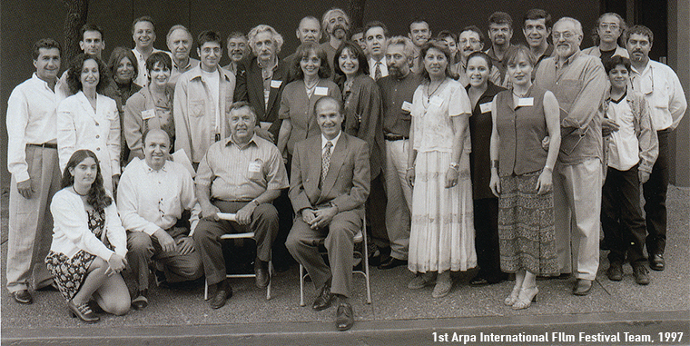 1997 Arpa Int Film Fest Founders and Team