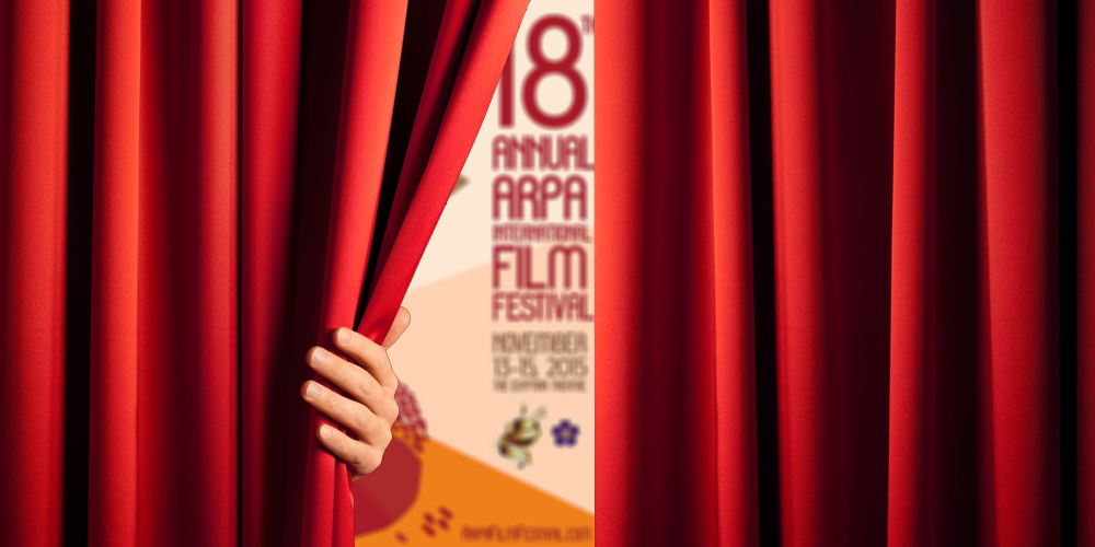Our Creative In House Production Team Has Created This Amazing Poster For The 18th Annual Arpa International Film Festival 2015