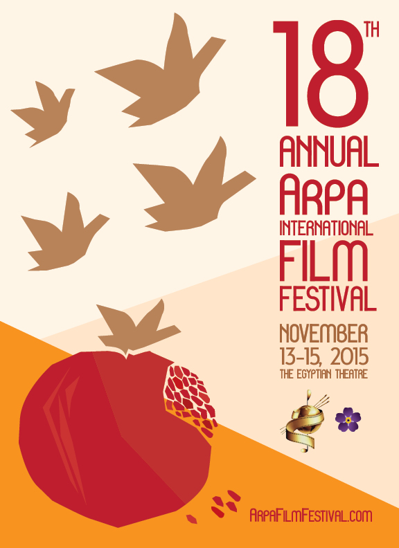 18th Annual Arpa Film Festival 2015 Poster