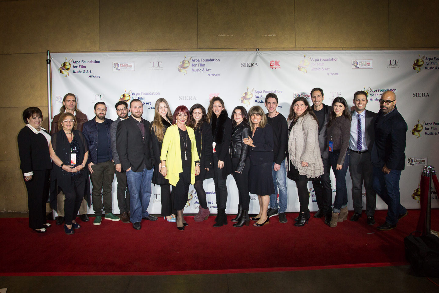 Arpa Film Festival 2015 Red Carpet 1