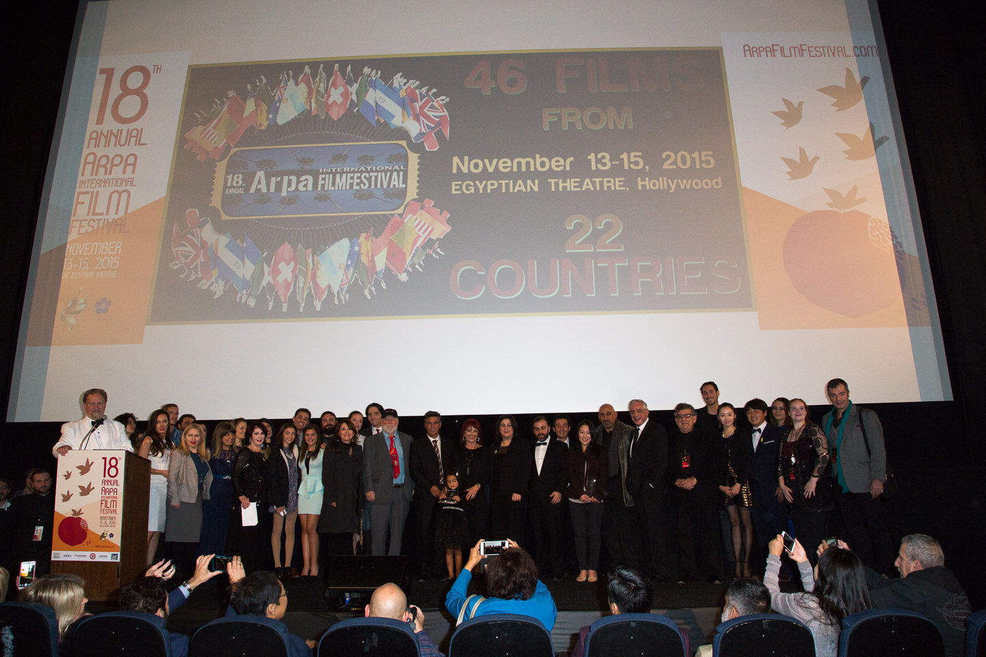 Arpa Film Festival 2015 Awards Ceremony