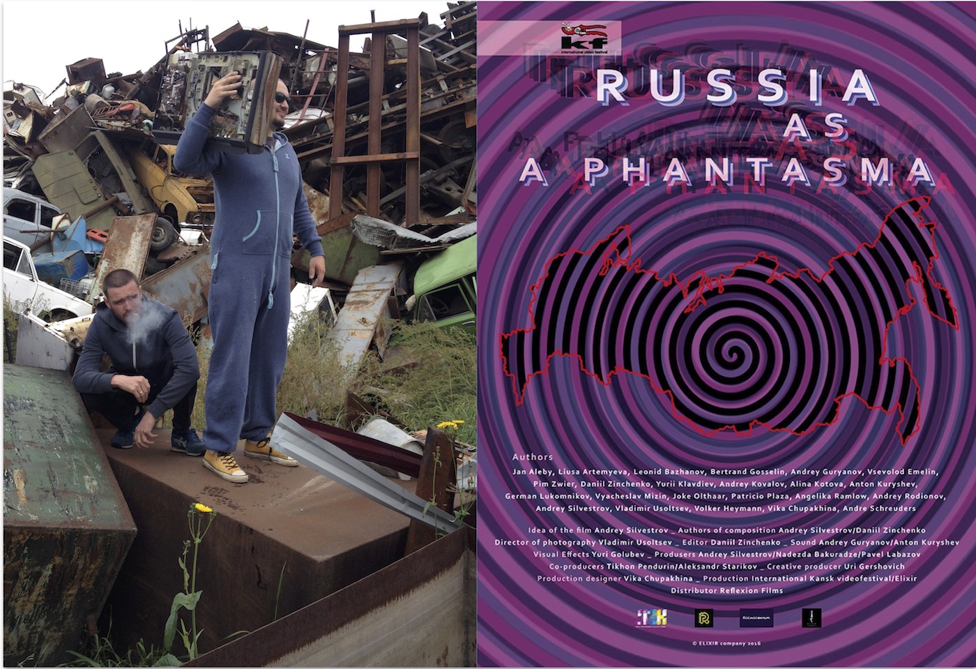 "USA Premiere of ""Russia as Phantasma"" an Arpa IFF Best Documentary Nomination"