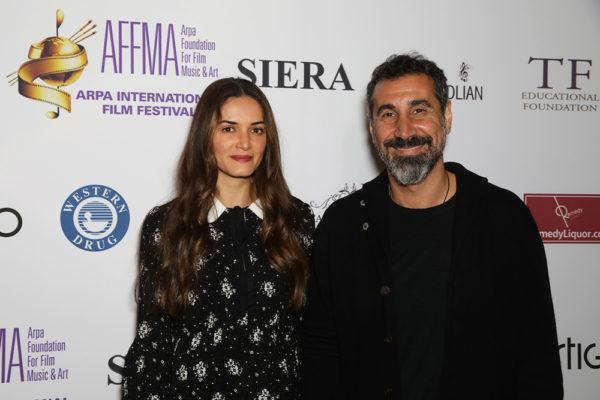 Angela and Serj Tankian